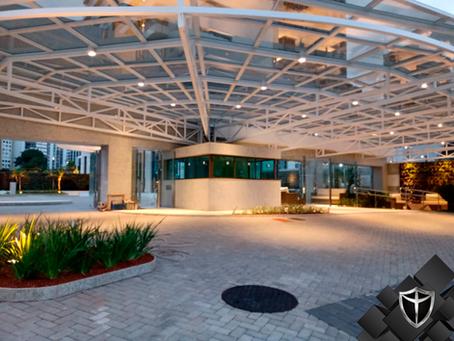 Guarita blindada em Salvador-BA. Mais um projeto realizado pela Arquitetônica Blindaço