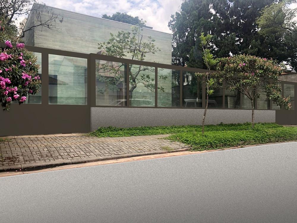 Muro de vidro blindado é tendência para projetos que pretendem valorizar a fachada e o imóvel. Beleza, harmonia e proteção com vidros blindados nível III-A certificados pelo exército brasileiro e garantia de 5 anos inclusive para a instalação