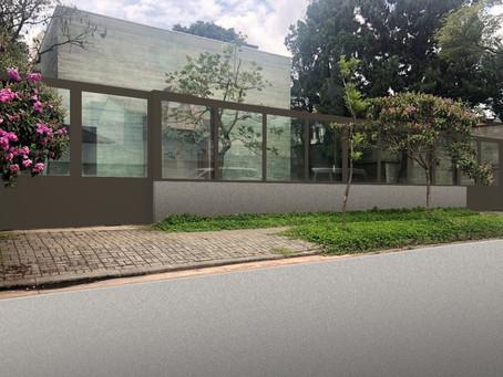 Muro de Vidro Blindado oferece proteção, sofisticação e valorização dos imóveis