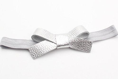 Nellie Headband - Bumpy Silver