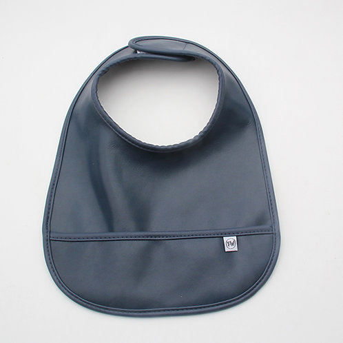 Blair Bib - Smooth Blue