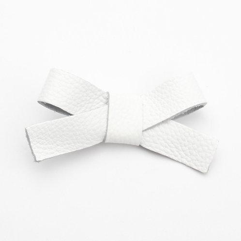 Nellie Hair Clip - Bumpy White
