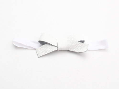 Nellie Headband - Bumpy White