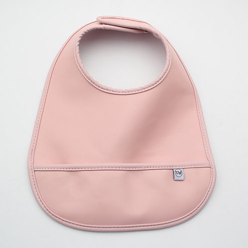 Blair Bib - Smooth Pink