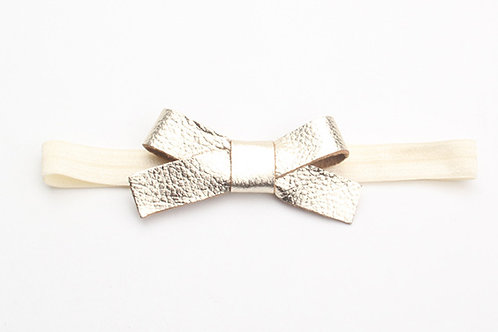 Nellie Headband - Bumpy Gold