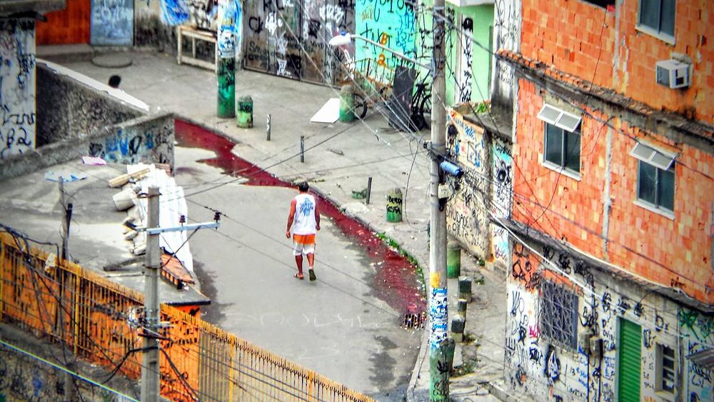 Favela Bandeira 2 - Rio de Janeiro_Foto_Carlos Cout, Coletivo Papo Reto do Complexo do Alemão -  RJ