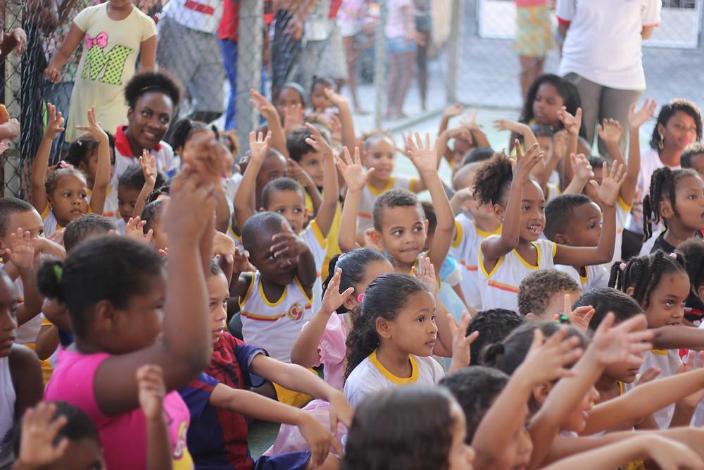 Escola Comunitária Luiza Mahin / foto: CarlaGalrão