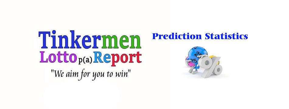 Prediction statistics header background.