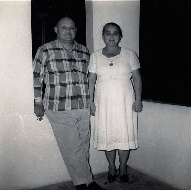 Pedro Reina Del Valle y Ana Díaz Reyes