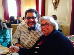 Con Marysa Navarro