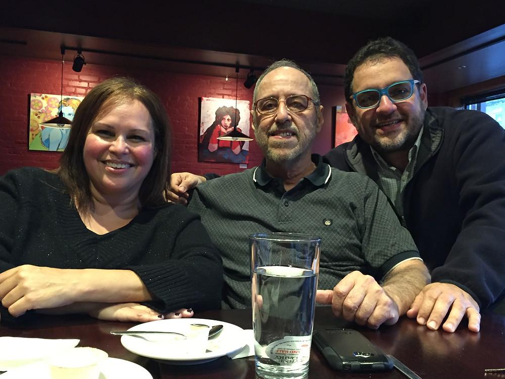 Nosotros con Gilberto Rivera Pérez, paladín incansable de esta historia
