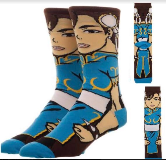 Street Fighter - Chun Li Socks