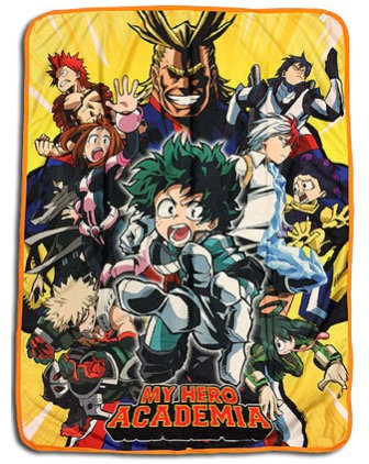 My Hero Academia Throw Blanket