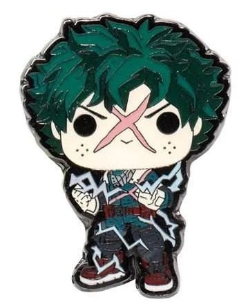 My Hero Academia Deku Full Cowl Pop! Enamel Pin - Entertainment Earth Exclusive