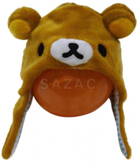 San-X - Rilakkuma head cap