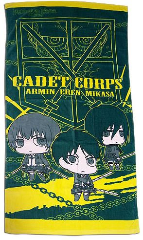 Attack on Titan - Cadet Corps Bath Towel