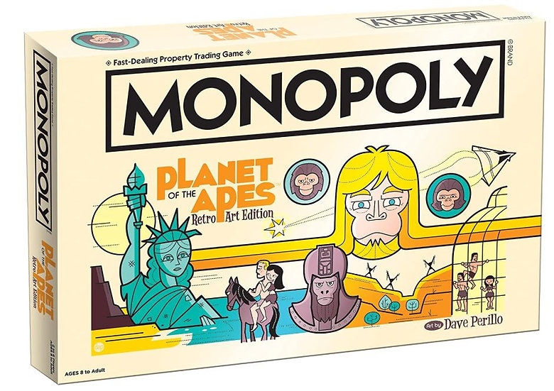 Planet of the Apes Monopoly Board Game