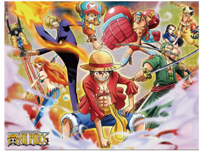 One Piece - Group #3 Sublimation Throw Blanket