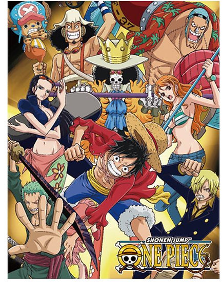 One Piece - Group #2 Sublimation Throw Blanket