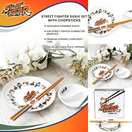 Street Fighter - Sushi Set