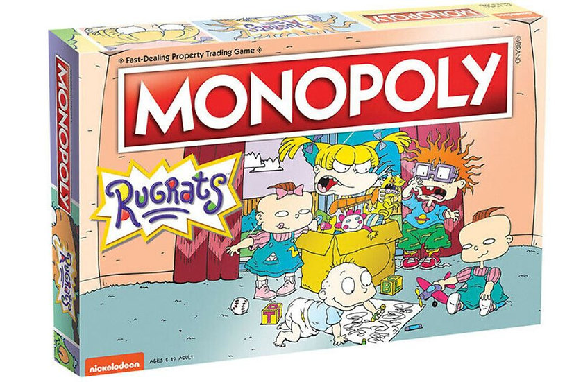 Rugrats Monopoly Board Game