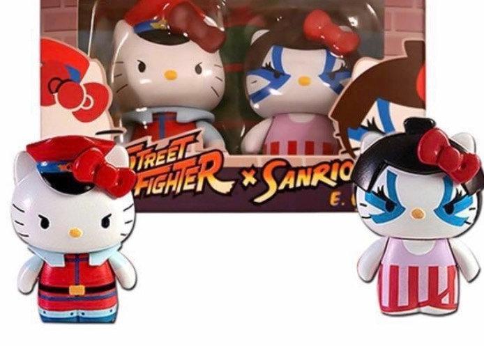 Street Fighter x Sanrio M.Bison vs E.Honda