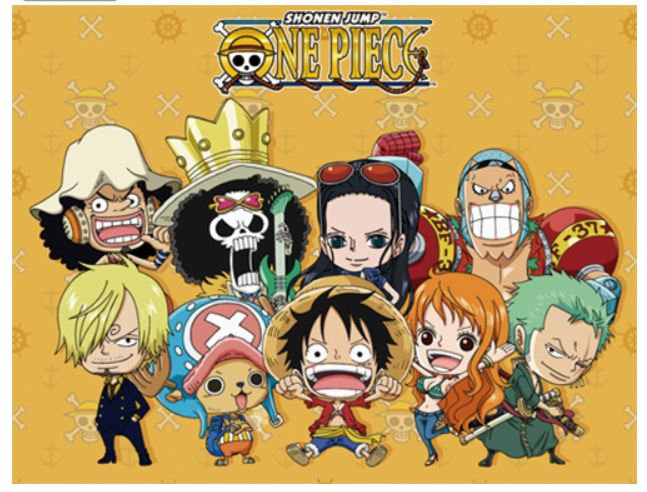 One Piece - Group Sublimation Throw Blanket