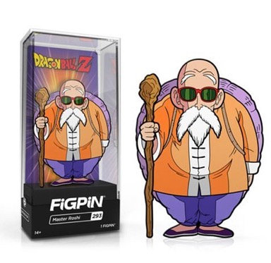 Dragon Ball Z Master Roshi FiGPiN Enamel Pin