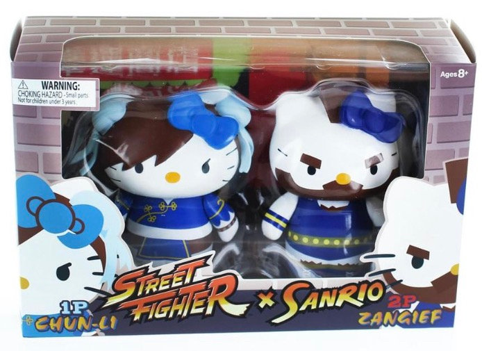 Street Fighter x Sanrio Chun Li VS Zangief