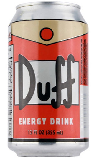 The Simpsons - Duff Energy Drink
