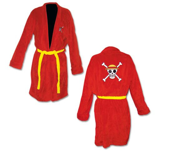 One Piece Jolly Roger Robe