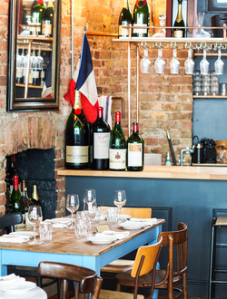 Cepages Wine Bistro French Flag