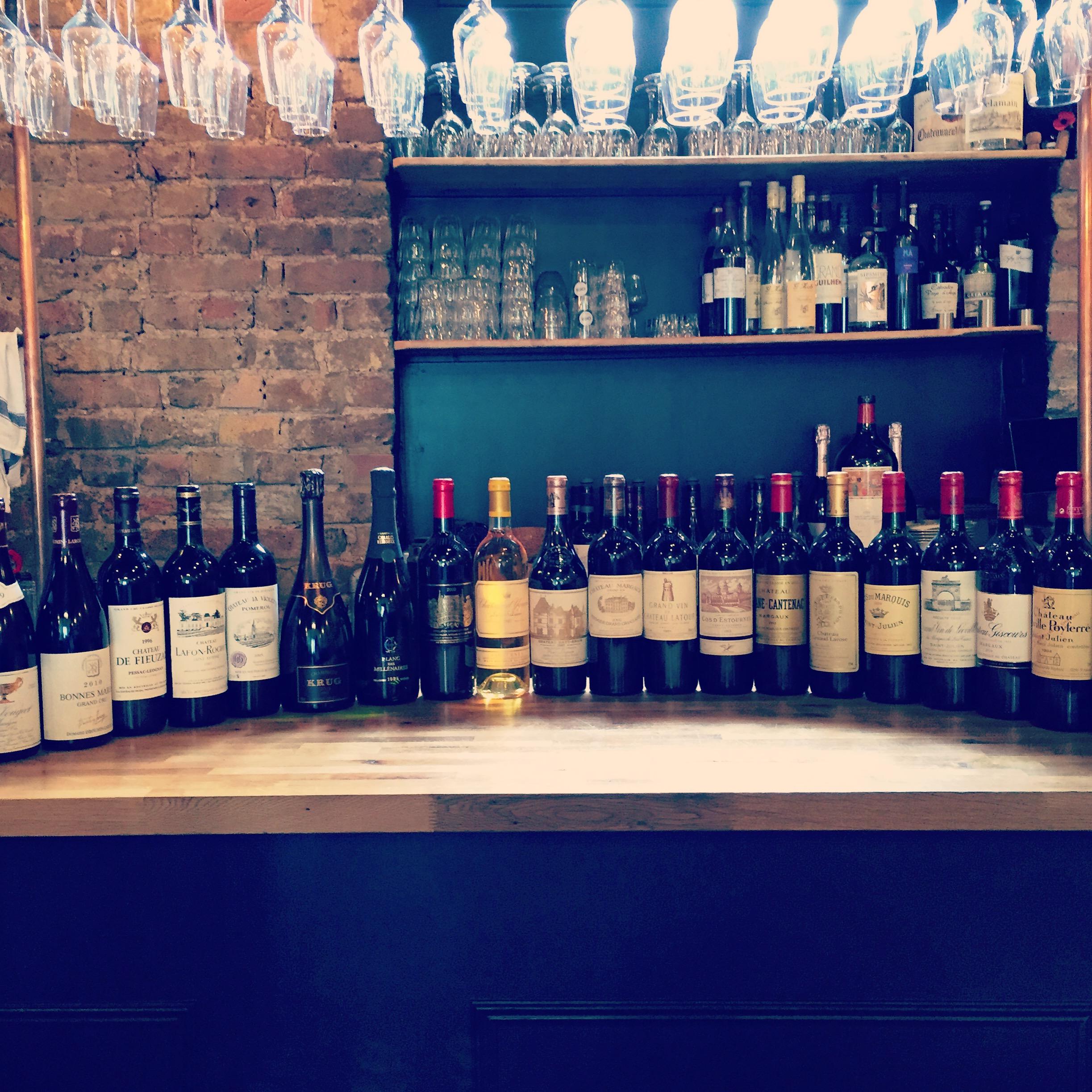 Cepages Wine Bistro Fine Wines