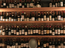 Cepages Wine Bistro Fine Wine Wall