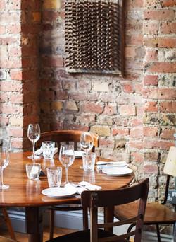 Cepages Wine Bistro Brick Wall