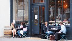 Cepages Wine Bistro Terrace