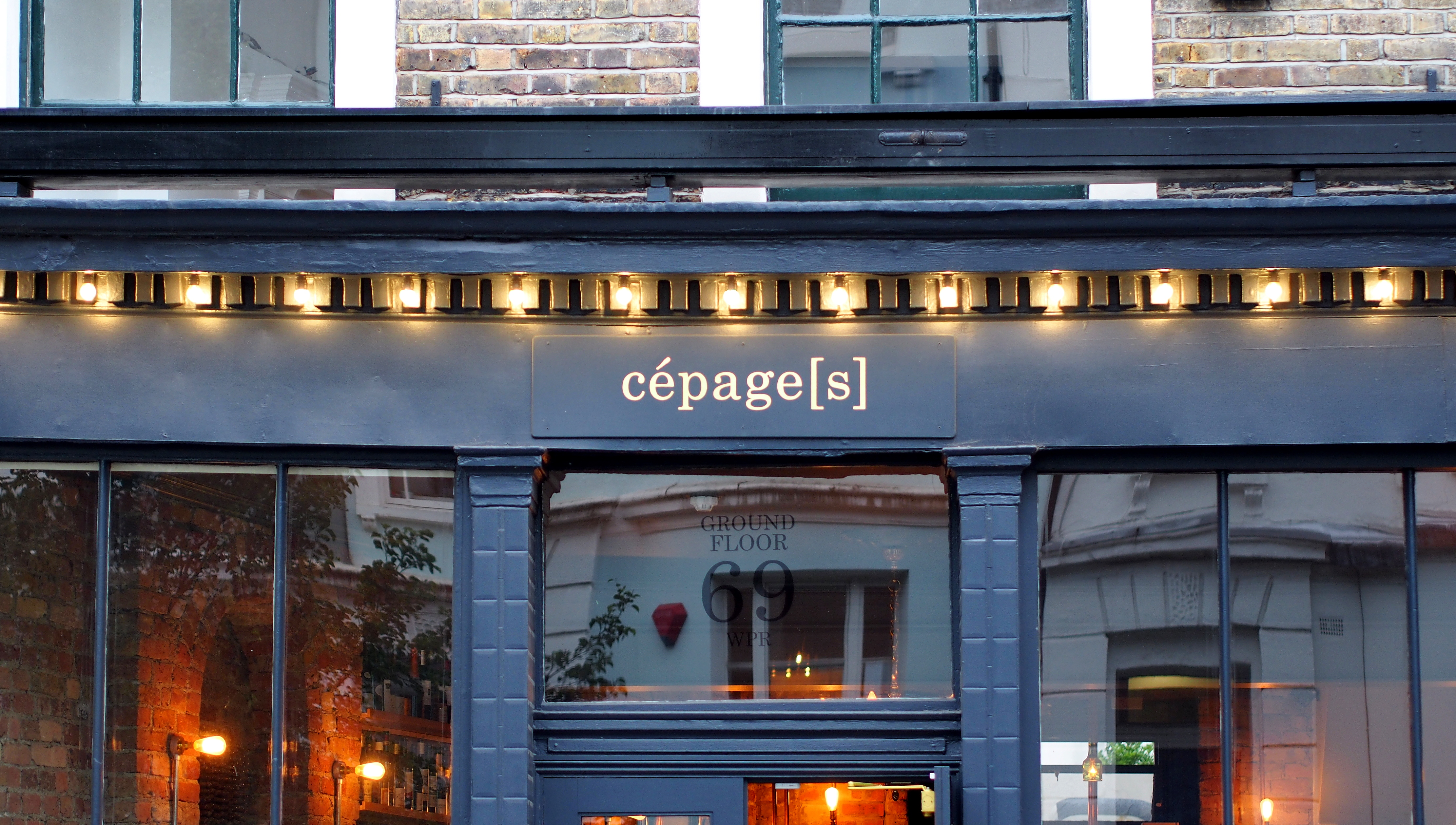 Cepages Wine Bistro Front