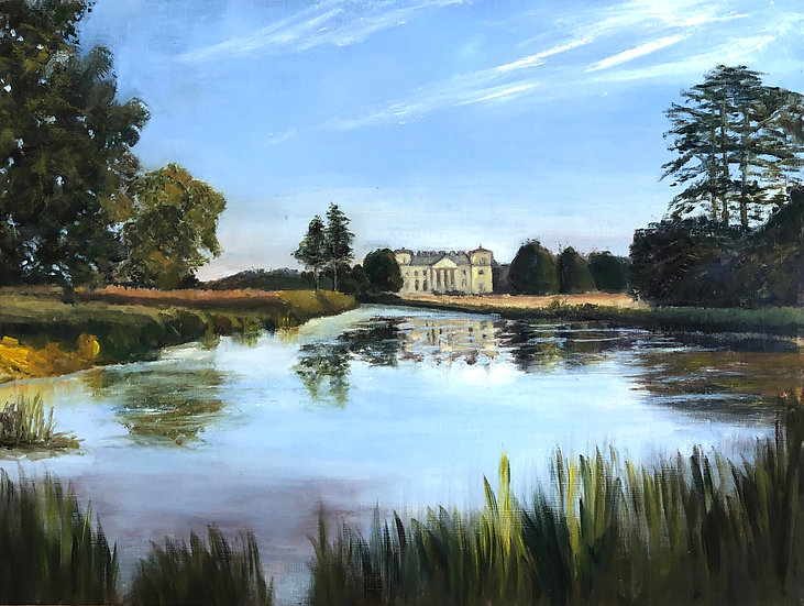 Croome Court Country Park, Original Oil Painting