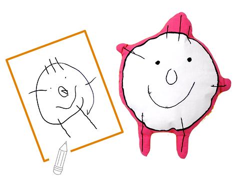 La peluche réalisée spécifiquement pour votre enfant !
