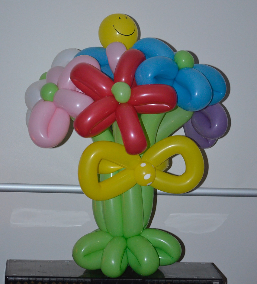 Flower Balloons for that special occasion