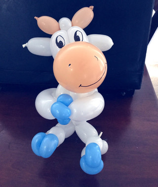 Mr. Toot's Balloon Cow is so cute