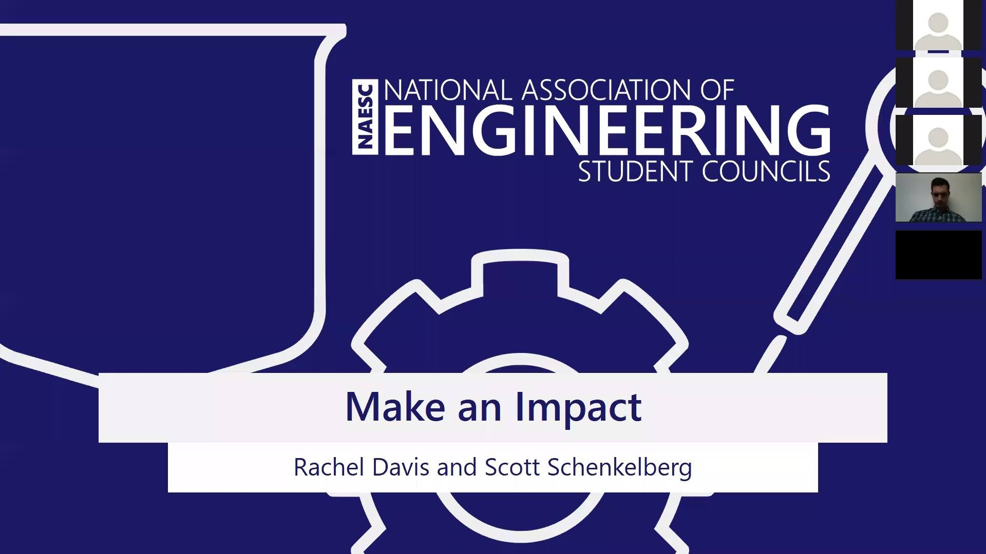 October 2017 NAESC Webinar: Make an Impact
