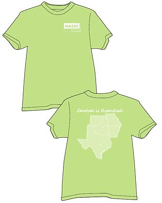 Central Regional T-Shirt, Comfort Colors
