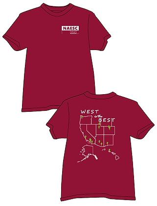 West Regional T-shirt, Comfort Colors