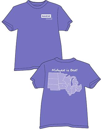 Midwest Regional T-Shirt, Comfort Colors