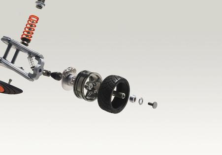 Adidas / Rear suspension