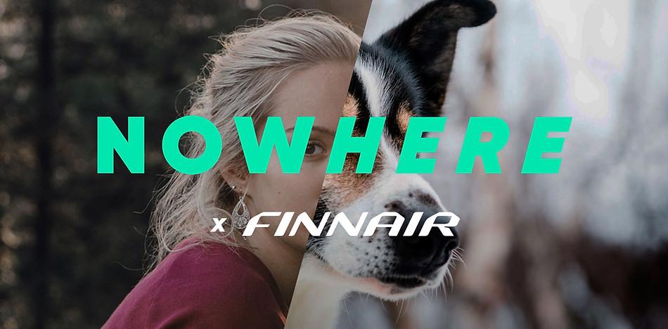Finnair / Now/here