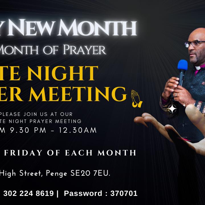 Late Night Prayer Meeting