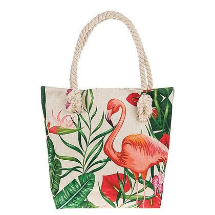 Funky Pink Flamingo Shoulder Bag
