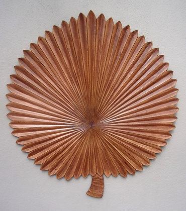Giant Leaf Fan Wall Art 90cm